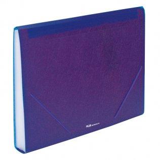 Carpeta clasificadora A4 Violeta opaco Plus Office