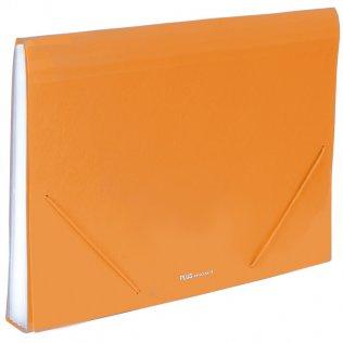 Carpeta clasificadora A4 Naranja opaco Plus Office