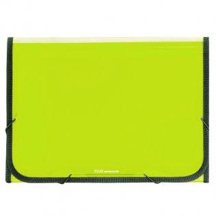 Carpeta clasificadora A4 verde claro traslúcida Plus Office