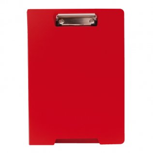 Carpeta miniclip A4 rojo Plus Office