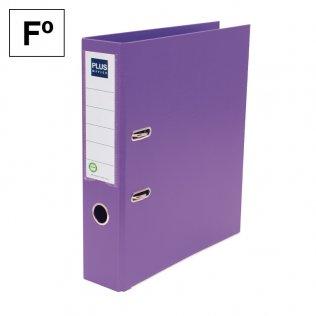 Archivador Plus Office E3R Folio lomo 75mm violeta
