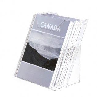 Expositor de sobremesa Durable Combiboxx A4 x3