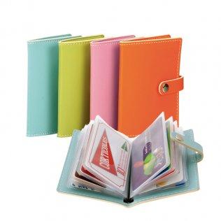 Cartera portatarjetas Plus Office 20 tarjetas