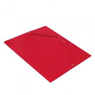 Carpeta Plus Soft A4 roja gomas y solapas