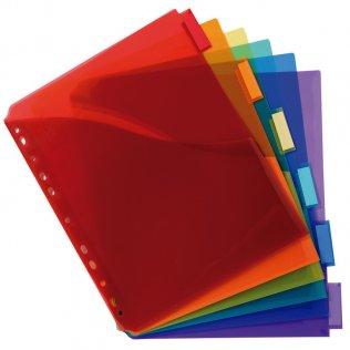 Separadores Maxi PP 6 colores A4+ Plus Office