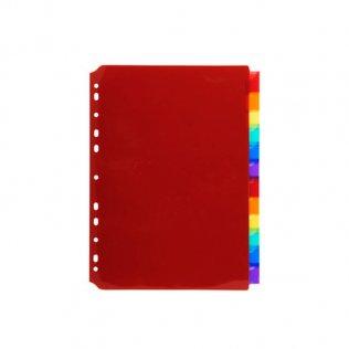 Separadores Maxi PP 12 colores A4+ Plus Office
