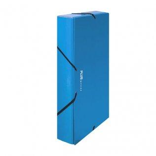 Carpeta proyecto A4 Azul Lomo 30 mm Plus Office