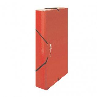 Carpeta proyecto A4 Rojo Lomo 50 mm Plus Office