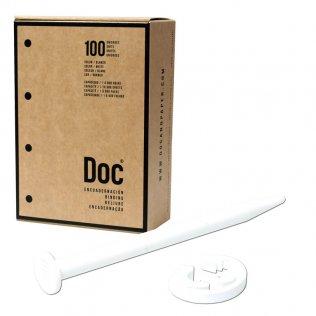 Encuadernadores Doc Blancos caja 100 ud