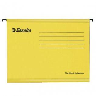 Carpeta colgante A4 amarillo 210g Esselte Classic