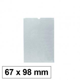 Funda PVC flexible 67 x 98 mm