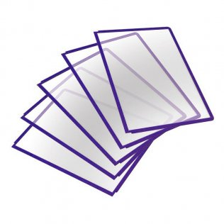 Fundas para clasificadores Durable con pivotes Violeta