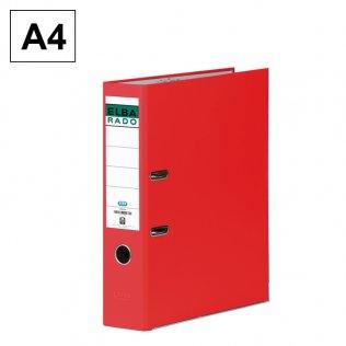 Archivador A4 Rojo Lomo 80mm Elba Rado-Chic