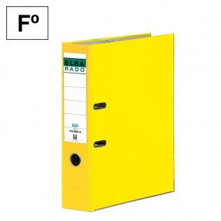 Archivador Fº Amarillo Lomo 80mm Elba Rado-Chic