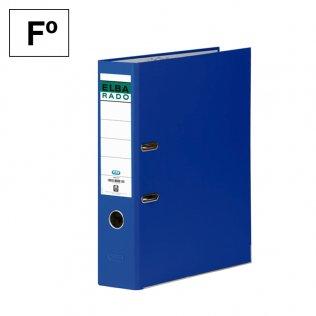 Archivador Fº Azul Lomo 80mm Elba Rado-Chic