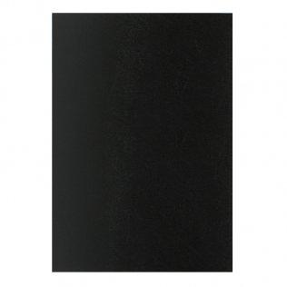 Cubierta encuadernar Plus Office A4 PP negro opaco 800 micras 50 ud