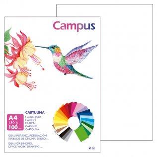 Cartulina Campus A4 Blanco 180 g