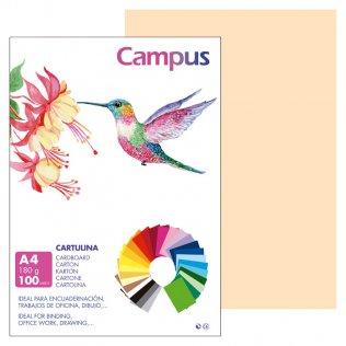 Cartulina Campus A4 Crema 180 g