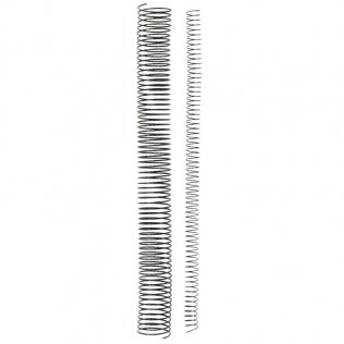 Espiral metálica A4 20mm 175 hojas 100 ud
