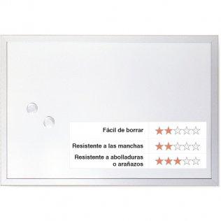 Pizarra blanca magnética 1200x900 mm Lacada