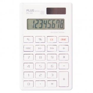 Calculadora antibacteriana BS-180 pequeña Plus Office