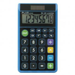 Calculadora Plus SS-165 Negro/Azul Plus Office
