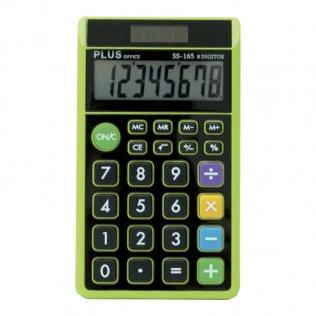 Calculadora Plus SS-165 Negro/Verde Plus Office