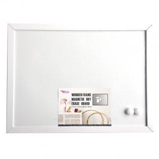 Pizarra Plus Office blanca magnética 400x300 mm