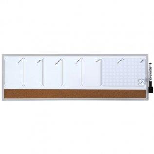 Planning Rexel Semanal magnético 585x190 mm