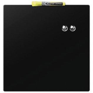 Pizarra Rexel magnética 360x360 negra