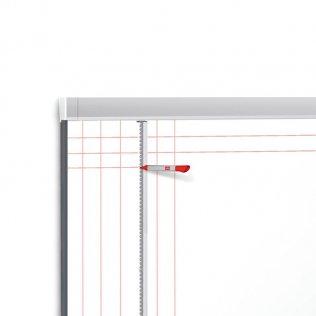 Guía para dibujar cuadrículas - accesorio pizarra Nobo Prestige 1200 x 900