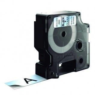 Cinta Dymo D1 19mm x 7m Negro/Transparente