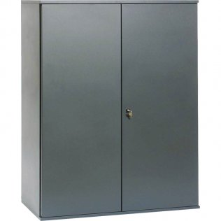 Armario Pierre Henry puertas batientes 1 estante gris