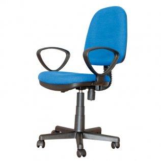 Silla oficina Giro Plus Azul Makro Paper