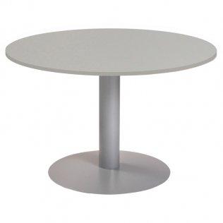 Mesa Meeting redonda Rocada 120x72cm Aluminio/Gris