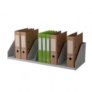 Clasificador vertical gris 9 separadores Paperflow