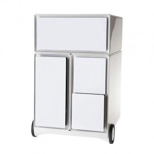 Cajonera Easy Boc 4 cajones blanco/blanco Paperflow