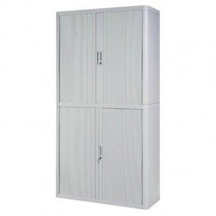 Armario Easy Office 2,04m blanco - 4 estantes Paperflow
