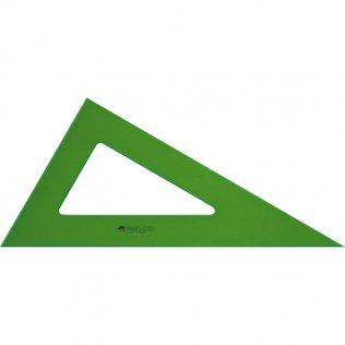 Cartabón Faber Castell Gama verde 25cm
