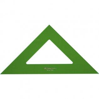 Escuadra Faber Castell Gama verde 25cm.
