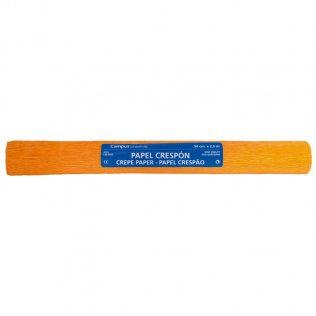 Papel crespón Campus College 50x250 naranja