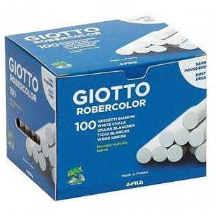 Tizas robercolor blancas (caja 100uds) Giotto