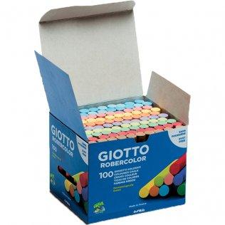 Tizas robercolor colores (caja 100uds) Giotto