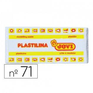Plastilina Jovi 150gr. Blanco