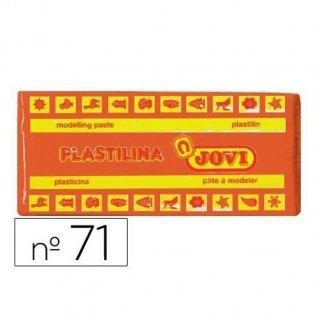 Plastilina Jovi 150gr. Naranja