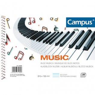 Bloc música Campus A5. Pentagrama grande