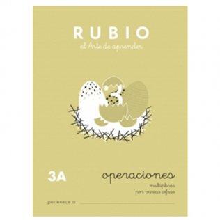 Cuadernos Rubio Operaciones 3A