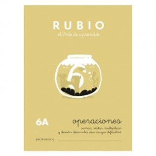 Cuadernos Rubio Operaciones 6A