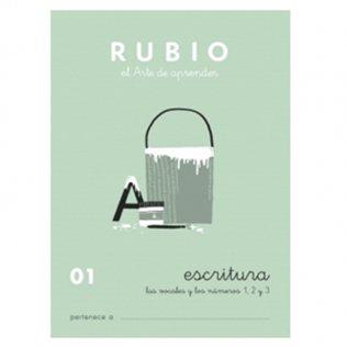 Cuadernos Rubio Caligrafía 01