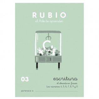 Cuadernos Rubio Caligrafía 03